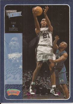 2000-01 Ultimate Victory #49 Tim Duncan