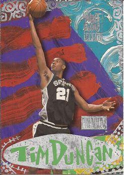 1997-98 SkyBox Premium Next Game #7 Tim Duncan