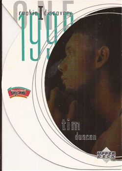 1997-98 Upper Deck Rookie Discovery 1 #R1 Tim Duncan