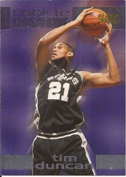 1997-98 Fleer Rookie Sensations #6 Tim Duncan