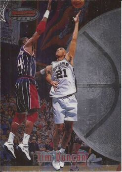 1997-98 Bowman's Best #106 Tim Duncan RC