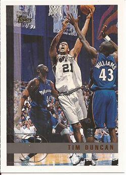 1997-98 Topps #115 Tim Duncan RC