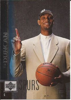 1997-98 Upper Deck #114 Tim Duncan RC