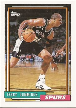 1992-93 Topps #91 Terry Cummings