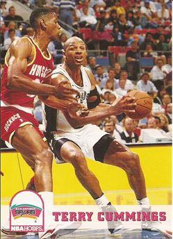 1993-94 Hoops #197 Terry Cummings