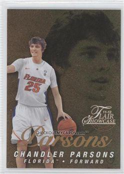 2011-12 Fleer Retro Flair Showcase #53 Chandler Parsons