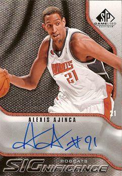 Upper Deck Game Used - Significance - Alexis Ajinca