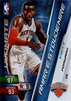 # U 18 Amare Stoudemire Ultimate card Knickerbockers USA