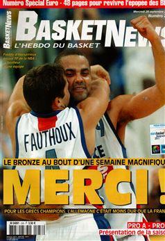 # 258 du 28 Septembre 2005 Spécial récap EuroBasket Serbie