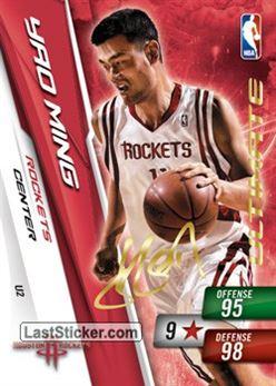 # U 02 Yao Ming Ultimate Card Rockets