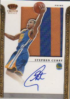 2011-12 Panini Preferred Silhouettes Prime #247 Stephen Curry/25