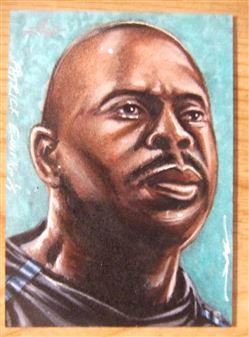 2014 Leaf Sketch Card Patrick Ewing