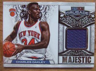 2013/14 Panini Crusade Majestic Memorabilia Charles Oakley #27