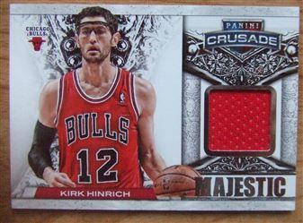 2013/14 Panini Crusade Majestic Memorabilia Kirk Hinrich #11