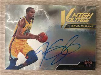 2017/18 Panini Vanguard High Voltage Signatures Kevin Durant/25 #26