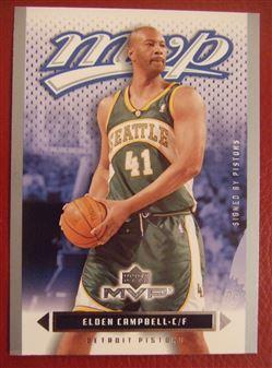 2003/04 Upper Deck MVP Silver Elden Campbell #43