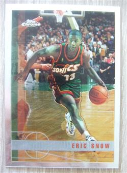 1997/98 Topps Chrome Eric Snow #189