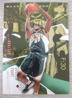 2003/04 Black Diamond Bronze Reggie Evans #26