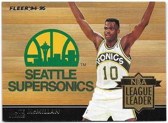 1994/95 Fleer League Leaders Nate McMillan #2