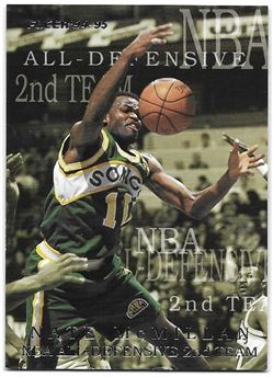 1994/95 Fleer All-Defensive Nate McMillan #7