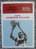 Shammond Williams
