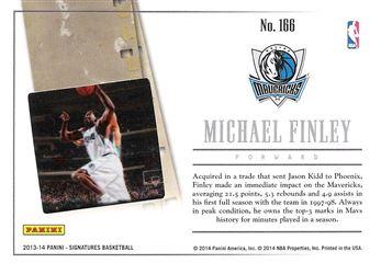 2013-14 Panini Signatures Film #166 Michael Finley