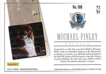 2013-14 Panini Signatures Film Green #166 Michael Finley