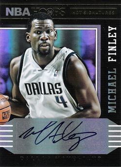 2014-15 Hoops Hot Signatures #13 Michael Finley
