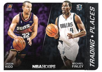 2014-15 Hoops Trading Places #15 Michael Finley