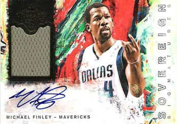 2014-15 Court Kings Sovereign Signatures #2 Michael Finley