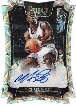 2016-17 Select Die-Cut Autographs Scope #49 Michael Finley