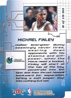 2000-01 Fleer Genuine Smooth Operators #SO8 Michael Finley