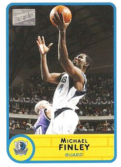 2003-04 Bazooka Mini #44 Michael Finley