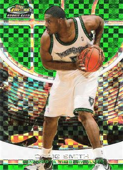 2005-06 Finest X-Fractors Green #157 Craig Smith