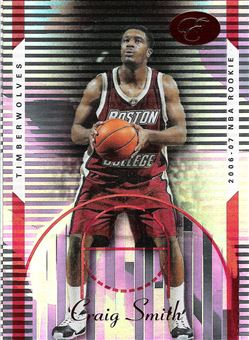 2006-07 Bowman Elevation Red #104 Craig Smith