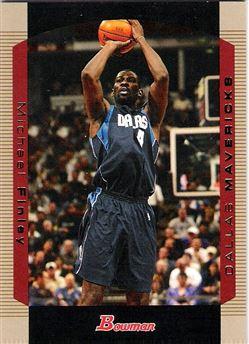 2004-05 Bowman Gold #92 Michael Finley