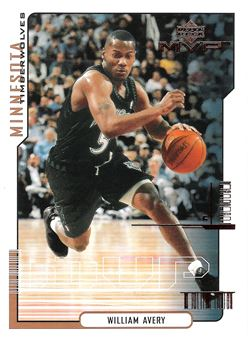 2000-01 Upper Deck MVP #100 William Avery