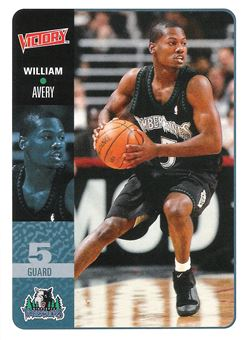 2000-01 Upper Deck Victory #125 William Avery