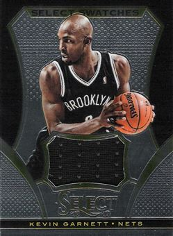 2013-14 Select Swatches #18 Kevin Garnett
