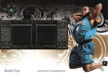 2006-07 Ultimate Collection Debut Patches #UDRF Randy Foye