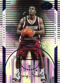 2006-07 Bowman Elevation Blue #104 Craig Smith