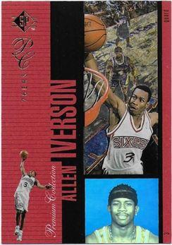 1996-97 SP Holoviews #PC28 Allen Iverson