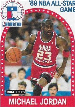 1989-90 Hoops #21 Michael Jordan AS