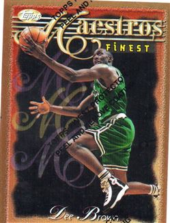 1996-97 Finest Refractors #96 Dee Brown B