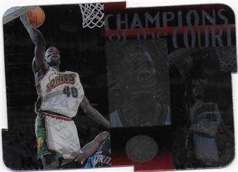 1995-96 SP Championship Champions of the Court Die Cuts #C25 Shawn Kemp