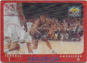 1997-98 Upper Deck Diamond Vision #5 Terrell Brandon