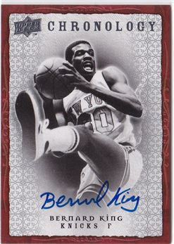2007-08 Chronology Autographs Bernard King