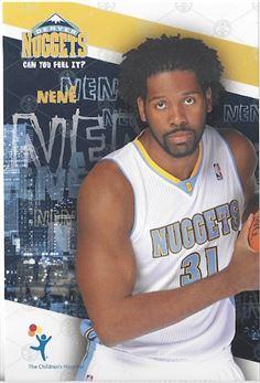 2009-'10 Qdoba/Children's Hospital Denver Nuggets Promo - Nenê Hilário