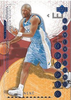 2003-'04 Upper Deck Triple Dimensions - Nenê Hilário #18