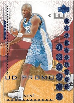 2003-'04 Upper Deck Triple Dimensions - Nenê Hilário #18 - UD PROMO